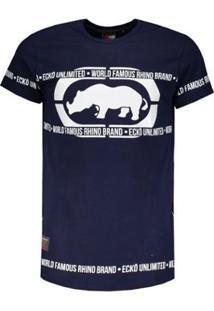 Camiseta Ecko Especial Masculina - Masculino-Marinho