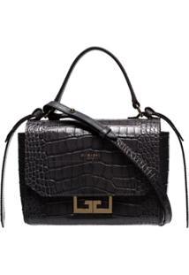 Givenchy Bolsa Tiracolo 'Eden' Mini - Cinza