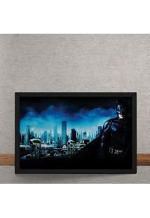 Quadro Decorativo Batman Gotham Dc Comics 25X35