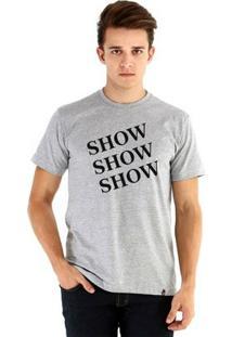 Camiseta Ouroboros Manga Curta Show Brooklyn99 - Masculino-Cinza