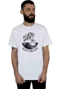 Camiseta Bleed American Shark Branco