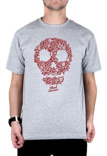 Camiseta Bleed American Flaw Cinza