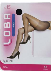 Meia-Calça Lupo - Feminino-Preto