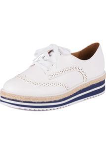 842819961b Sapato Oxford Vizzano feminino