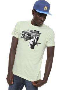 Camiseta Volcom Noise Head Verde