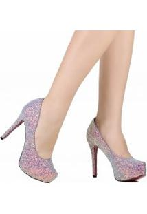 Sapato Zariff Scarpin Salto Alto De Noivas