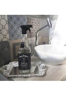 Saboneteira Garrafa De Whisky Jack Daniels Rotulo Preto