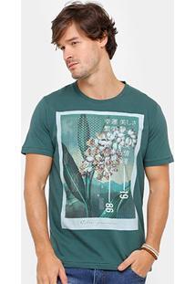 Camiseta Colcci 98 Flower Masculina - Masculino