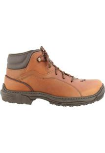 Coturno Country Hb - Agabê Boots - Solado De Borracha Masculino - Masculino-Laranja