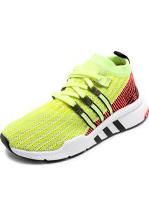 Tênis Adidas Originals Eqt Support Mid Adv Amarelo
