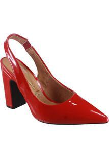a853214956 Sapato Vermelho Vizzano feminino