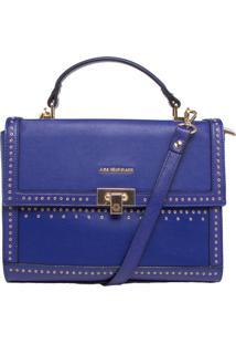 Bolsa Ana Hickmann Pequena Tiracolo Azul