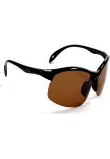 Óculos De Sol Jf Sun Cancun Top-Tartaruga Marrom-Dourado - Kanui