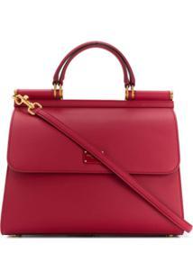 Dolce & Gabbana Sicily 58 Tote Bag - Vermelho