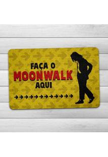 Capacho Ecológico Moonwalk Geek10 - Multicolorido