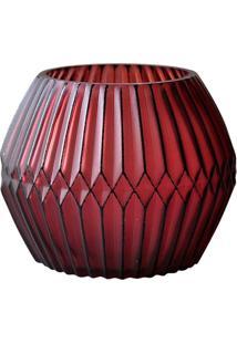 Castiçal De Vidro Vermelho Chinese Ballon Urban Home