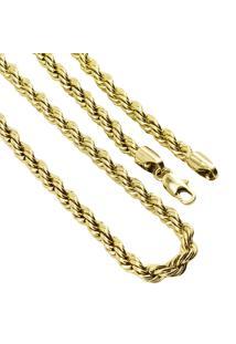 Pulseira Tudo Jóias Folheado A Ouro 18K Dourado