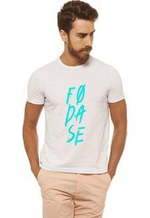 Camiseta Joss - Fodase - Masculina - Masculino-Branco