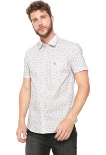 Camisa Red Nose Reta Tropical Cinza