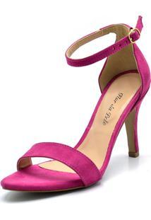 Sandália Flor Da Pele Social Pink