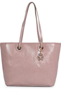 Bolsa Shopping Bag Ana Hickmann Molhado Nude Nude