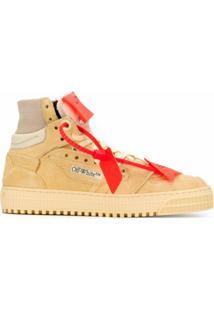 Off-White Suede 3.0 Court Sneakers - Neutro