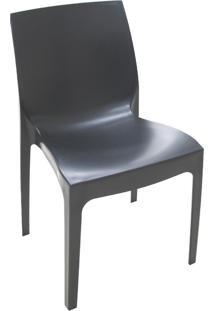 Cadeira De Jardim Alice Satinada Preta 92038009 Tramontina