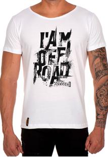 Camiseta Lucas Lunny T Shirt Gola Canoa Off Road