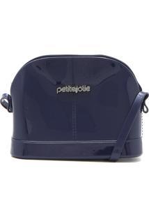 Bolsa Petite Jolie Logo Azul-Marinho