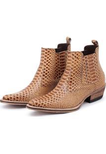 Bota Top Franca Shoes Country Milho