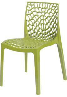 Cadeira Gruvyer Verde Or Design - Verde - Dafiti