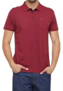 Camisa Polo Linen Hurley - Masculino