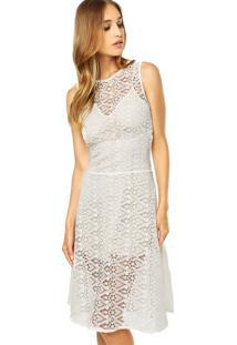 10946fb77a ... Vestido Colcci Comfort Renda Off-White