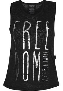 Regata Ellus Cotton Devore Freedom Preta