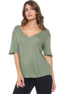Camiseta Forum Bolso Verde