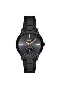 Relógio Orient Feminino Eternal Analógico Preto Fpss0009-G1Px