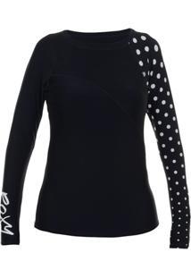 Camiseta Lycra Roxy Optic Nature - Feminino