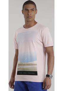 "Camiseta ""3"" Rosê"
