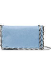 Stella Mccartney Bolsa Transversal Falabella - Azul