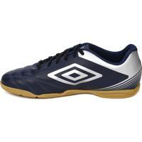Tênis Futsal Umbro Striker Iv Indoor Azul Marinho Prata 52731070513f3