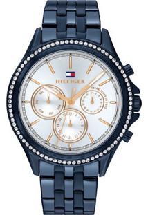 a95d85299b3 Relógio Digital Aco Tommy Hilfiger feminino
