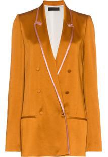 Haider Ackermann Blazer Com Botões Duplos - Amarelo