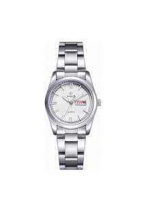 Relógio Feminino Wwoor 8804 - Prata
