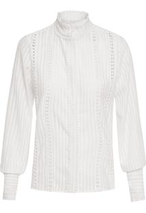 Camisa Feminina Lovely - Off White