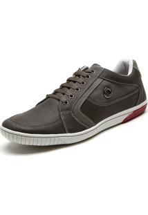 Sapatênis Ped Shoes Ilhós Marrom