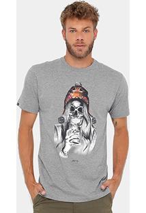 Camiseta Rusty Esp Ac Skullgirl Masculina - Masculino