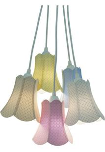 Lustre Pendente Paris Crie Casa Arabescos Candy Colors