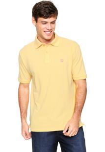 Camisa Polo Mr Kitsch Manga Curta Basic Amarela