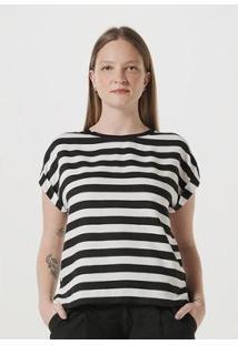Blusa Hering Tecido De Viscose Feminina - Feminino