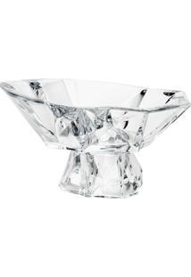 Fruteira De Vidro Sodo-Cálcico Com Titanio Angles 33Cm - Unissex